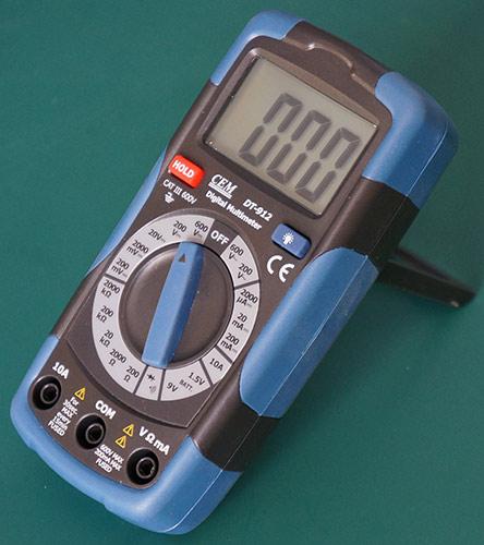 Мультиметр DT912