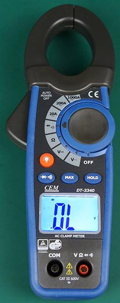Токовые клещи DT-3340