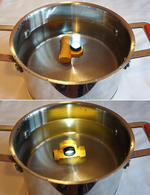 Тест HL21 на водопроницаемость