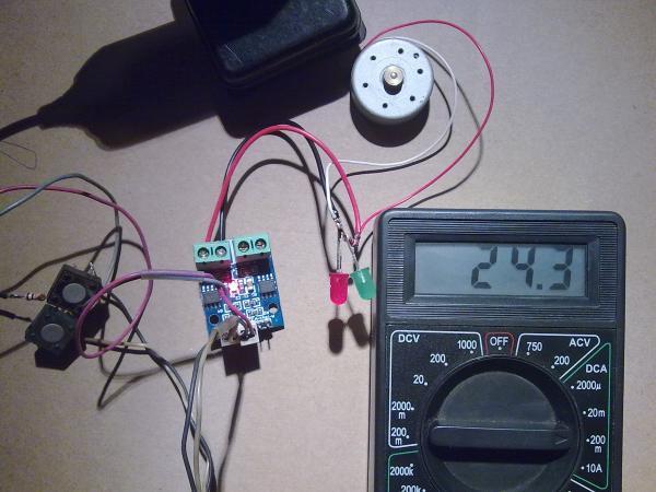 ток потребления L9110S в режиме покоя