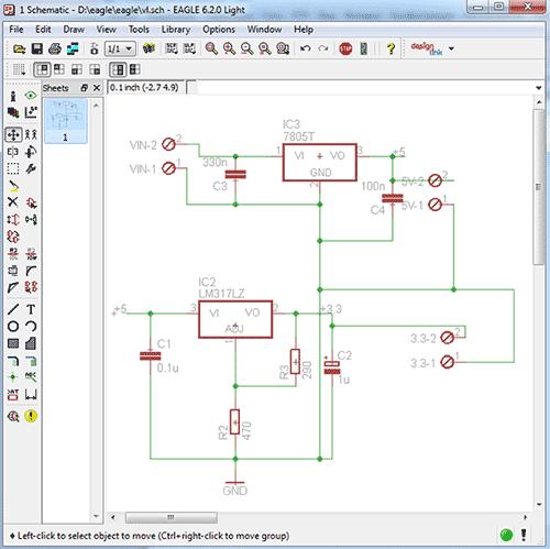 программа для составления электрических схем