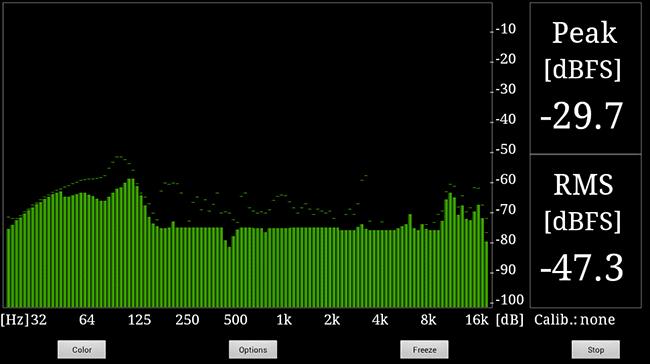 RTA Audio Analyzer - спектроанализатор