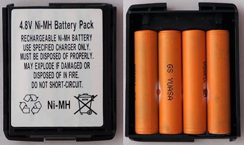 Ni-MH аккумулятор 4.8В