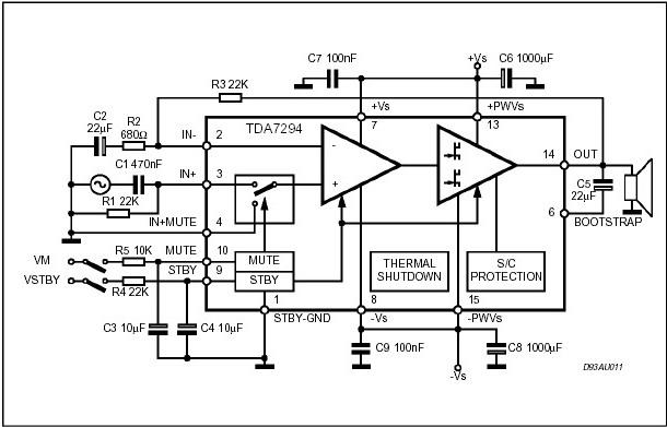 Усилители мощности низкой частоты (ламповые).  Удалить схему(Жалоба).  20.10.2011. Мощный аудио...