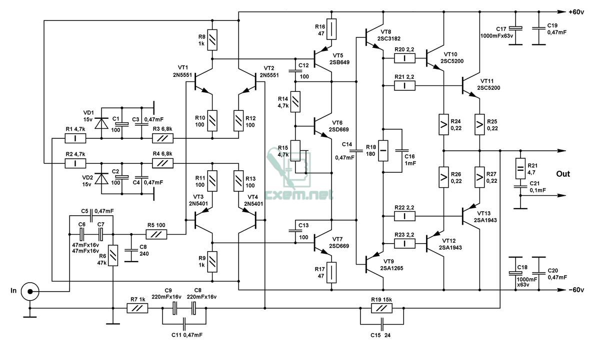 Мощный Умзч На Транзисторах (Ланзар) - Страница 272 - Усилитель мощности Ланзар.
