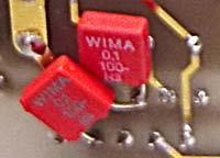 Разделительный конденсатор Wima