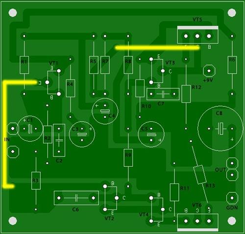 Усилитель звука на транзисторах своими руками.