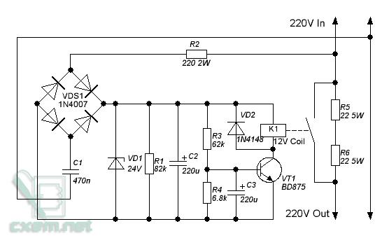 схема плавного пуска - Схемы.