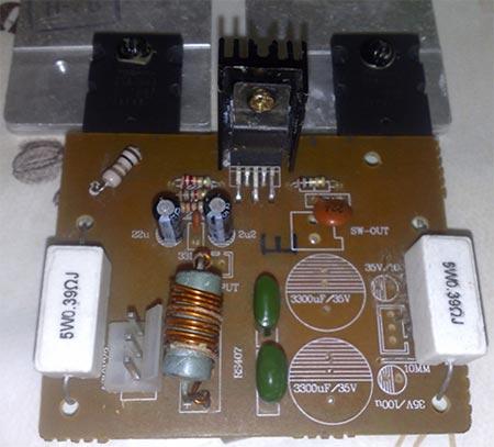 Монофонический УНЧ на LM1875