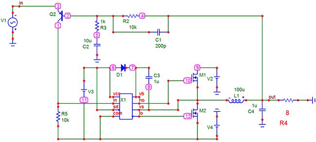Компаратор. Транзистор