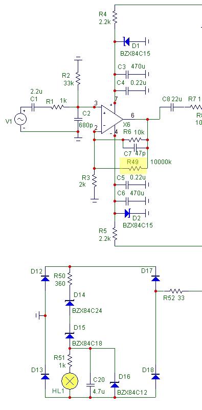 лимитер схема - Практическая схемотехника.
