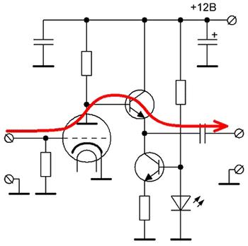 Рис.1 Упрощённая схема
