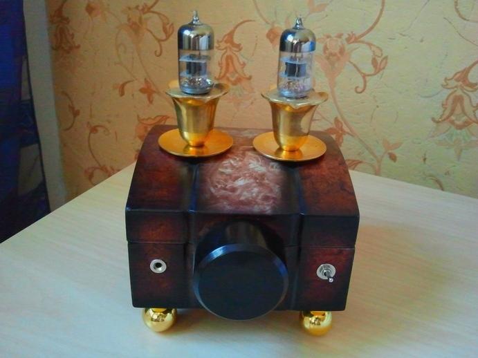 Ламповый гитарный усилитель на 6Ж8 и 6П6С