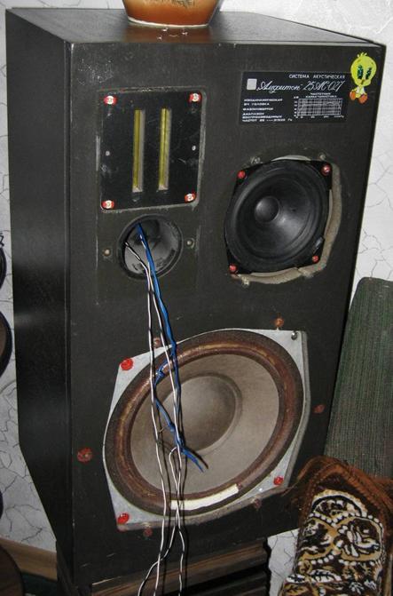 Доработка акустических систем Амфитон 25АС-027.