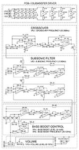 Схема драйвера сабвуфера
