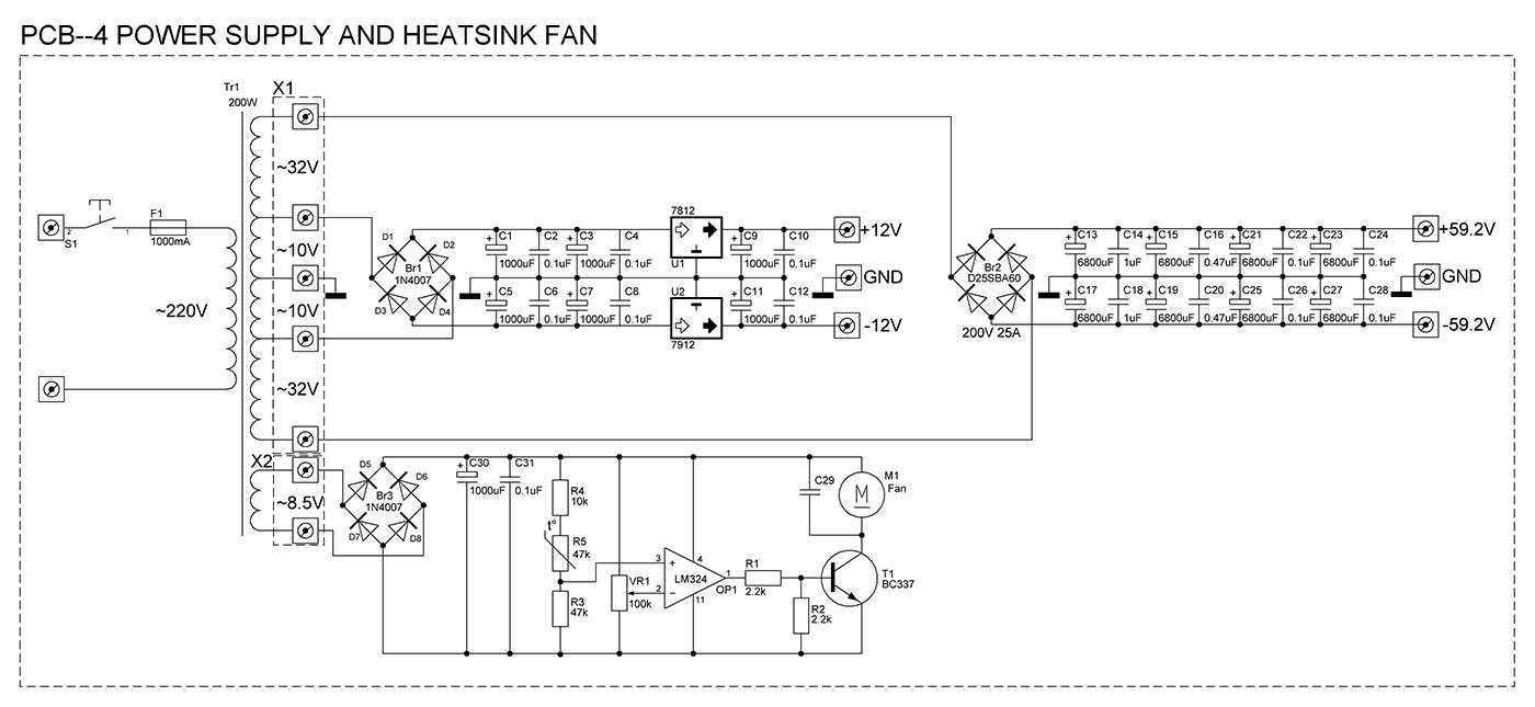 резонансный фильтр 50гц своими руками схема