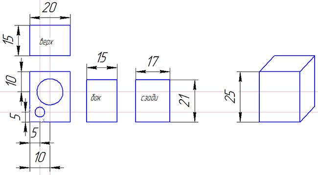 Размеры ящика