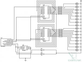 Схемы автомата эффектов на любое количество каналов
