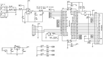 Принципиальная схема анализатора спектра