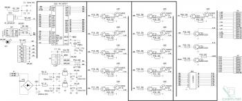 Принципиальная схема многоканального автомата световых эффектов