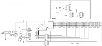 Принципиальная схема спектроанализатора на MSGEQ7