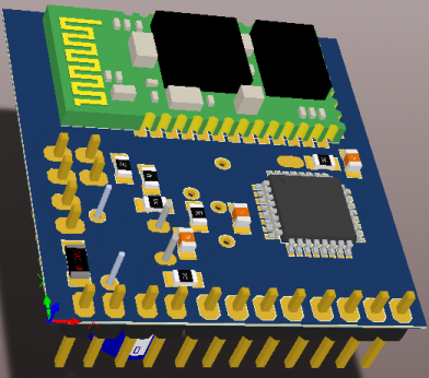 3D модель в Altium Designer 3D