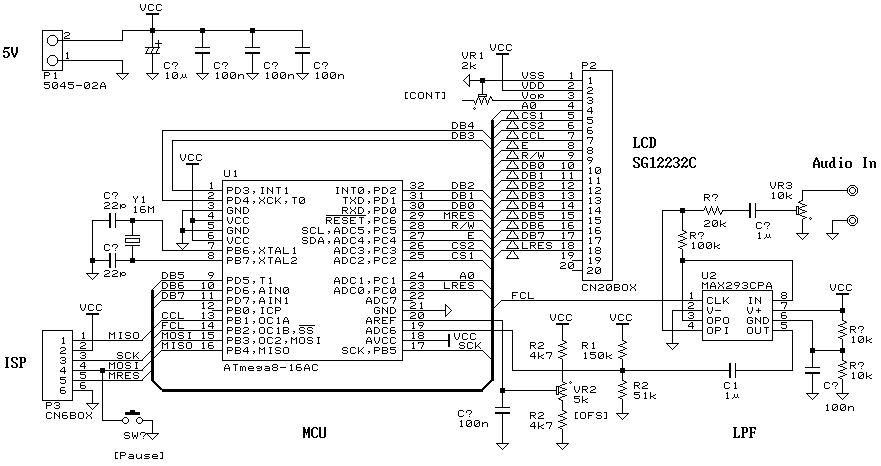Схема спектроанализатора