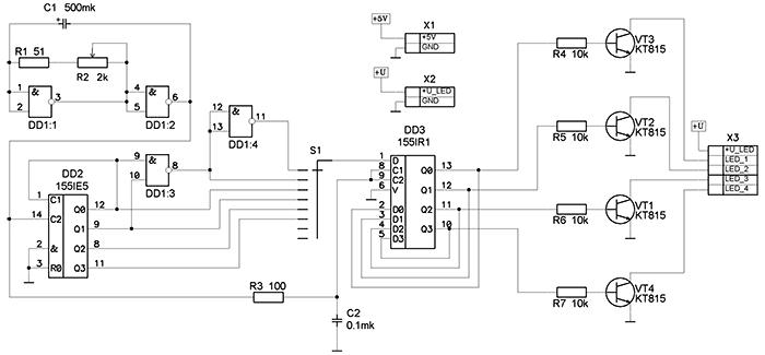 Схема базового блока