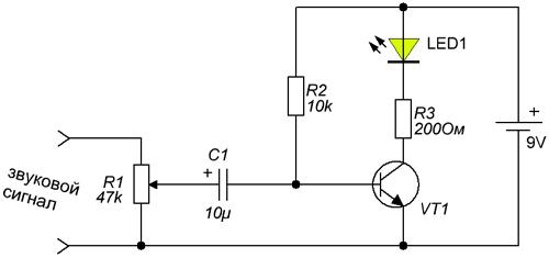 Схема фоновой подсветки