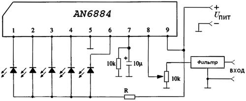 Основой устройства являются микросхемы AN6884 (можно и транзисторы, но...