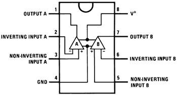 Структурная схема RC4558