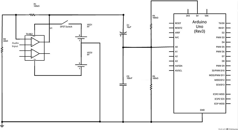 arduino принципиальная схема