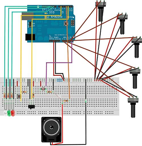 Схема синтезатора