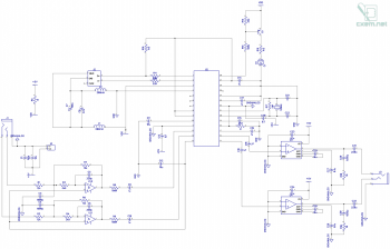 Схема простой USB звуковой карты