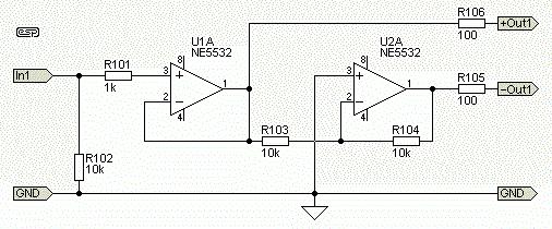 PCB версия активного балансного передатчика