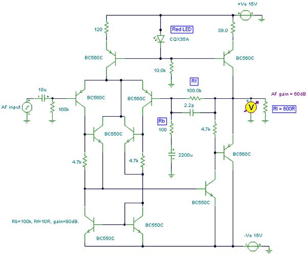 Схема Hi-Fi предусилителя