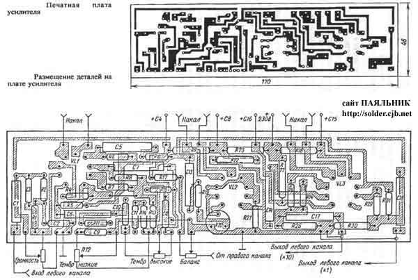 Схема автомобильного унч на tda1562q технические характеристики.
