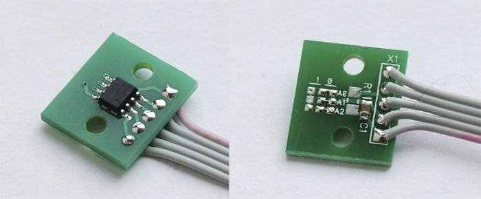 Термо-датчик LM75