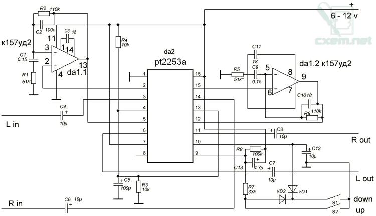 Микросхема Da 1 (К157УД2).