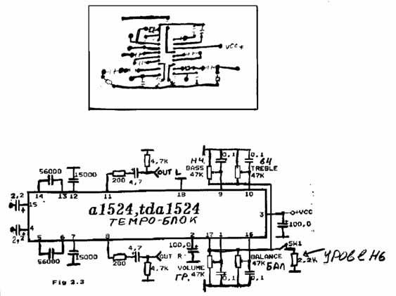 Темброблок на A1524