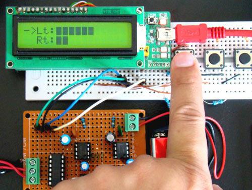Цифровой регулятор громкости для усилителя на МК и LCD.