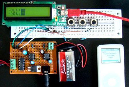 Фото цифрового регулятора громкости.