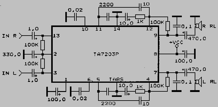 TA7203P_