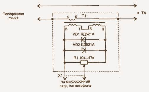 Это связано с тем, что, если трубка...  Приведенная на рисунке схема адаптера позволяет использовать любой...