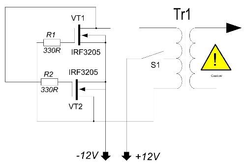 Схемы блокинг-генератора и