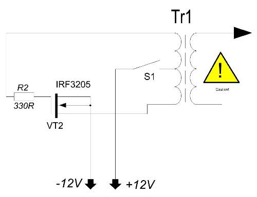 Мультивибратор на полевых транзисторах схема фото 560