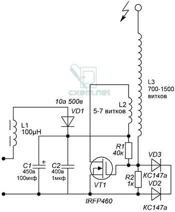 Схема качера Бровина