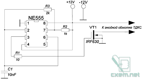 Озонатор схема на авто