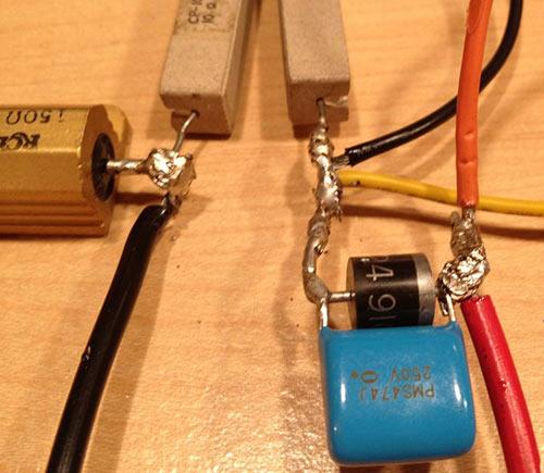 радиатор транзистора.