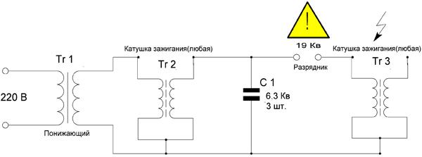 Трансформатор Tr2 - катушка